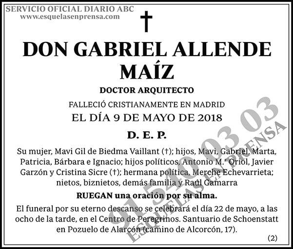 Gabriel Allende Maíz